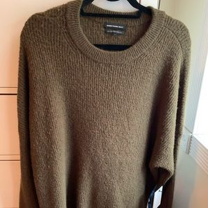 SomethingNavy Brown Sweater